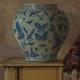 Butterfly Vase 2016, OOL, 45.5 x 38 cm