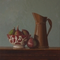 Crispin Akerman - Copper Jug and Figs 2017