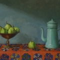 Still Life with Rug, Oil on Linen, 66 x 93cm